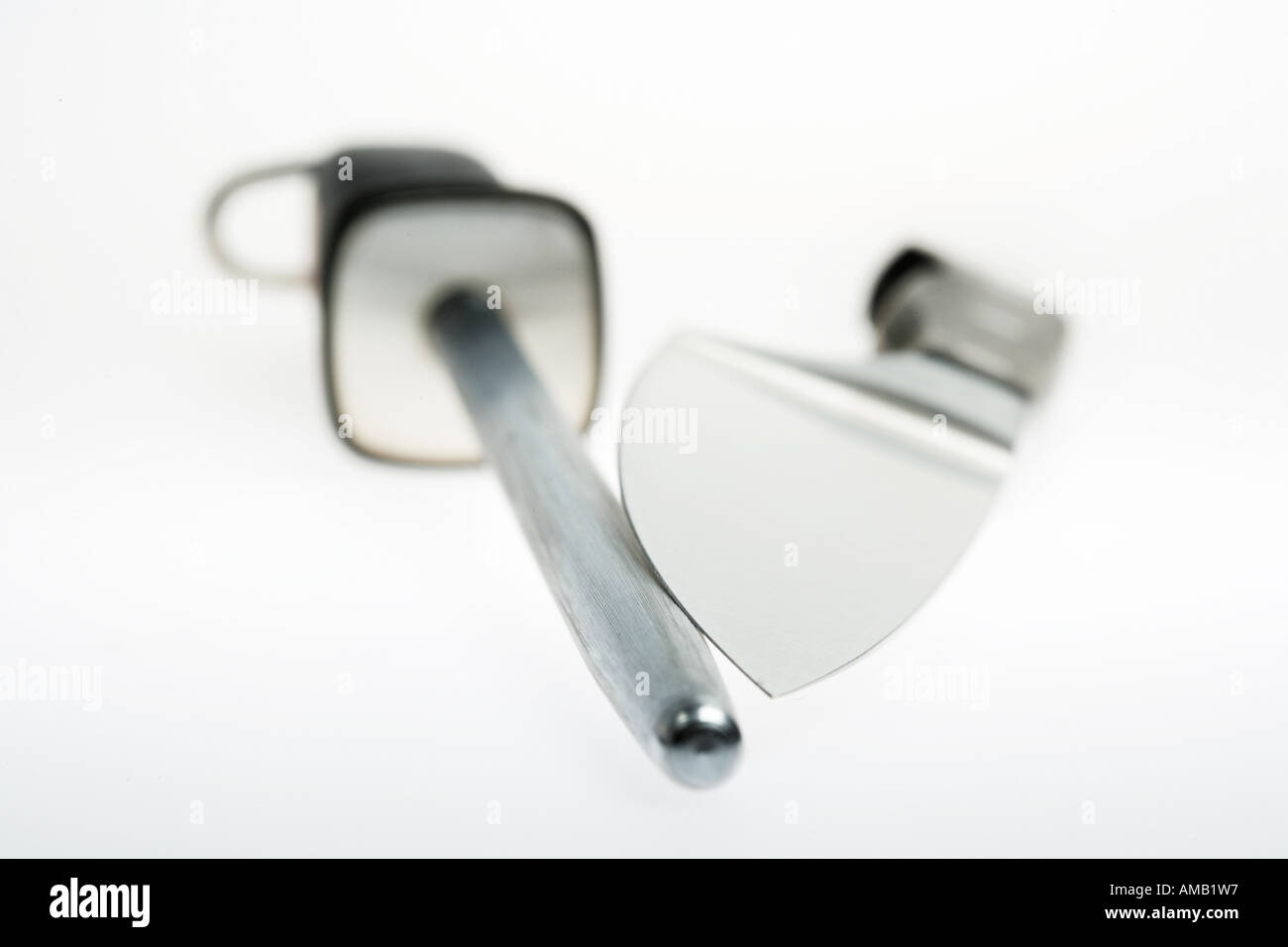 DEU, Germany : Steel, for sharpening of Cooking Knifes - Stock Image
