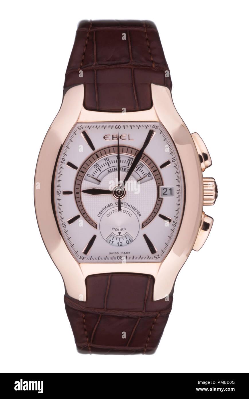 Ebel wristwatch - Stock Image