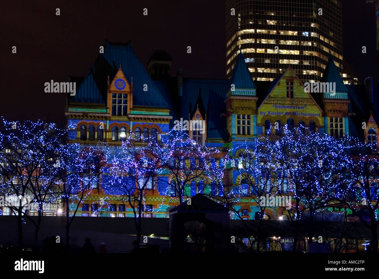 Phillips Christmas Lights.Holiday Lights In Nathan Phillips Square And Immersion Light