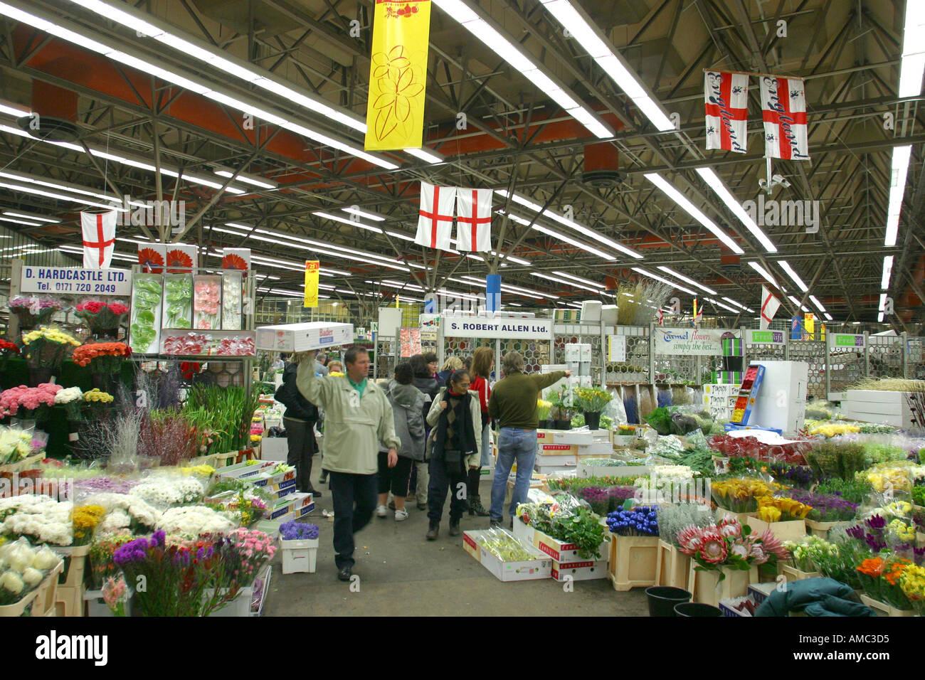 new covent garden flower market london stock photo: 1360852