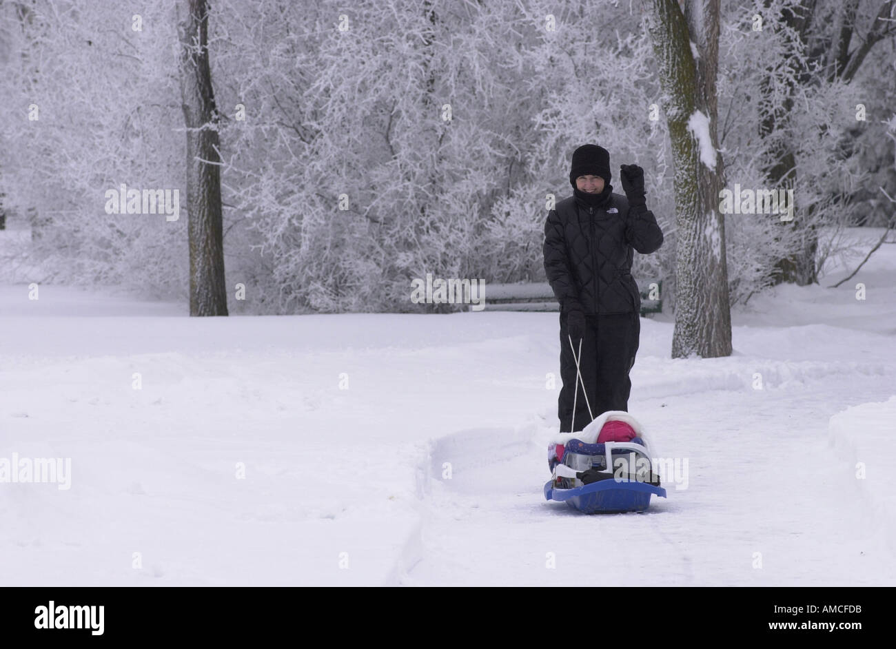 Winnipeg Winter Scenes Stock Photo: 1363930 - Alamy