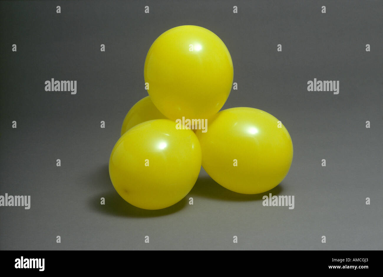 Four Electron Pair Tetrahedral Shape - Stock Image