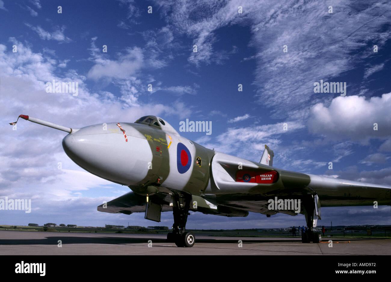 Avro Vulcan Bomber  GAV 1012 - Stock Image
