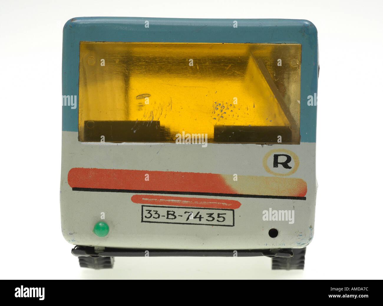 autobus, toy, eastern enlargement Stock Photo