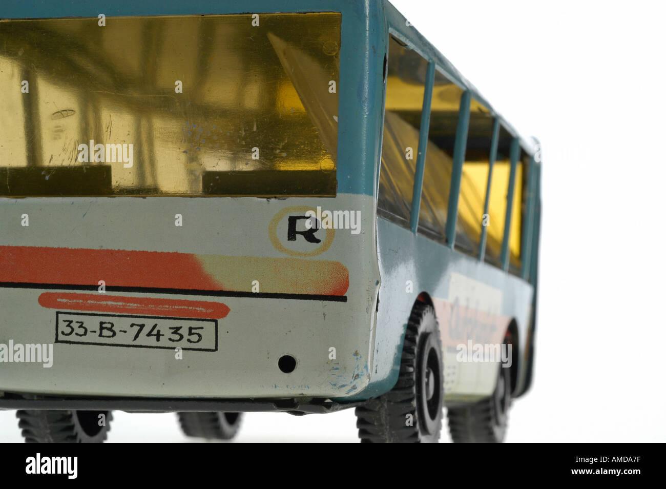 autobus, toy, Romania Stock Photo