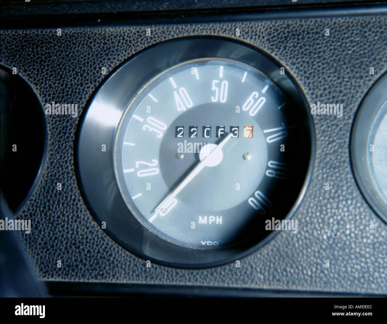 Speedometer Odometer Stock Photos & Speedometer Odometer