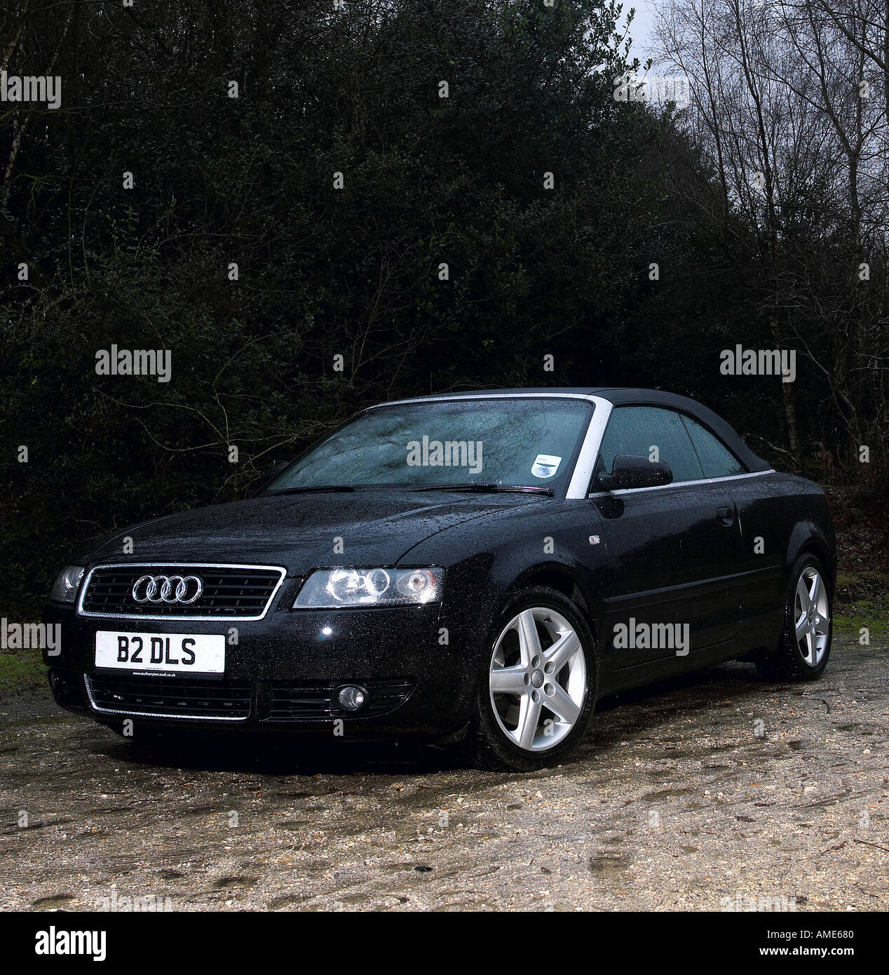 Audi A4 Convertible Stock Photos & Audi A4 Convertible