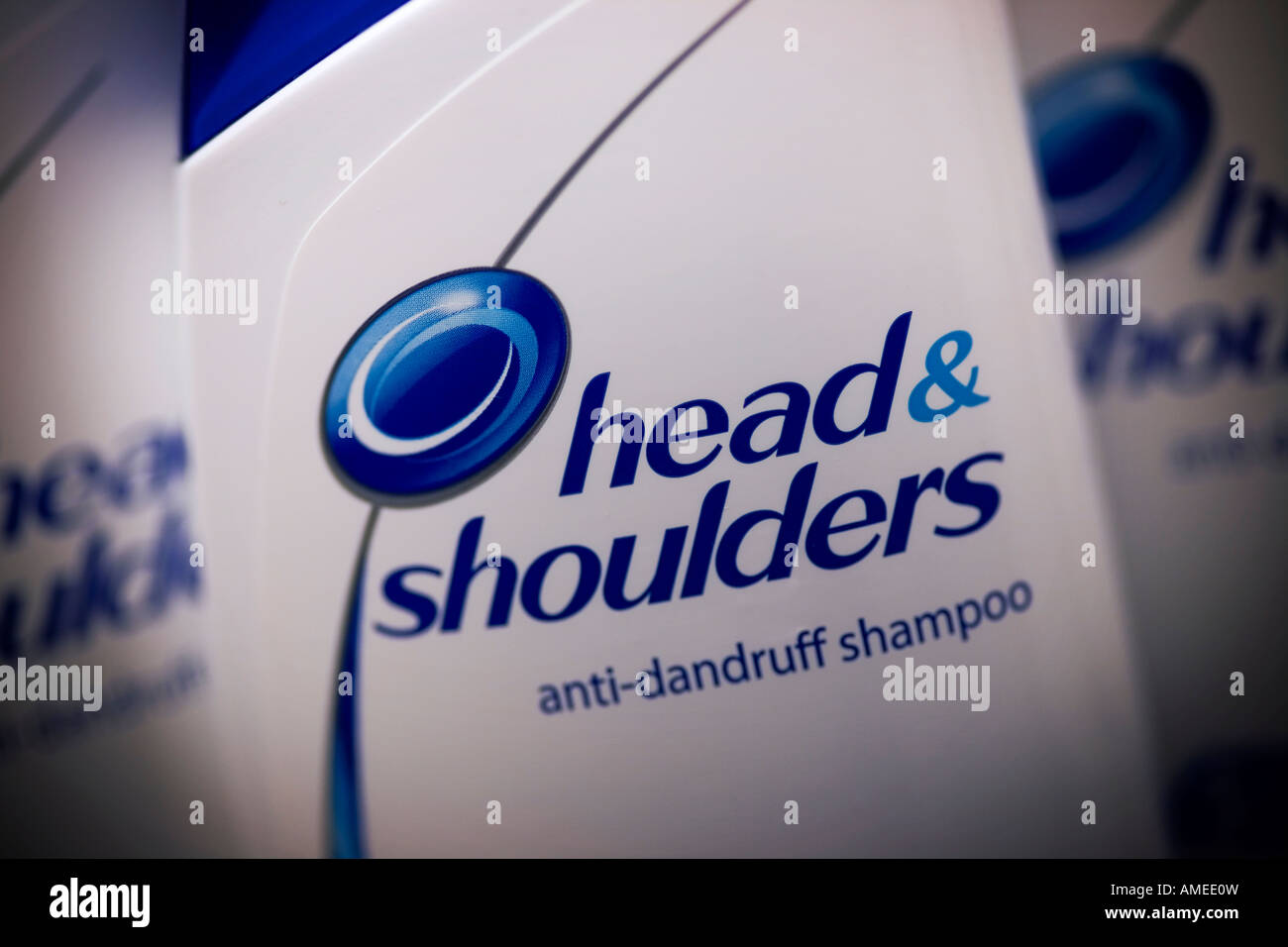 Head and Shoulders anti dandruff shampoo Head and Shoulders is a Procter Gamble brand Stock Photo