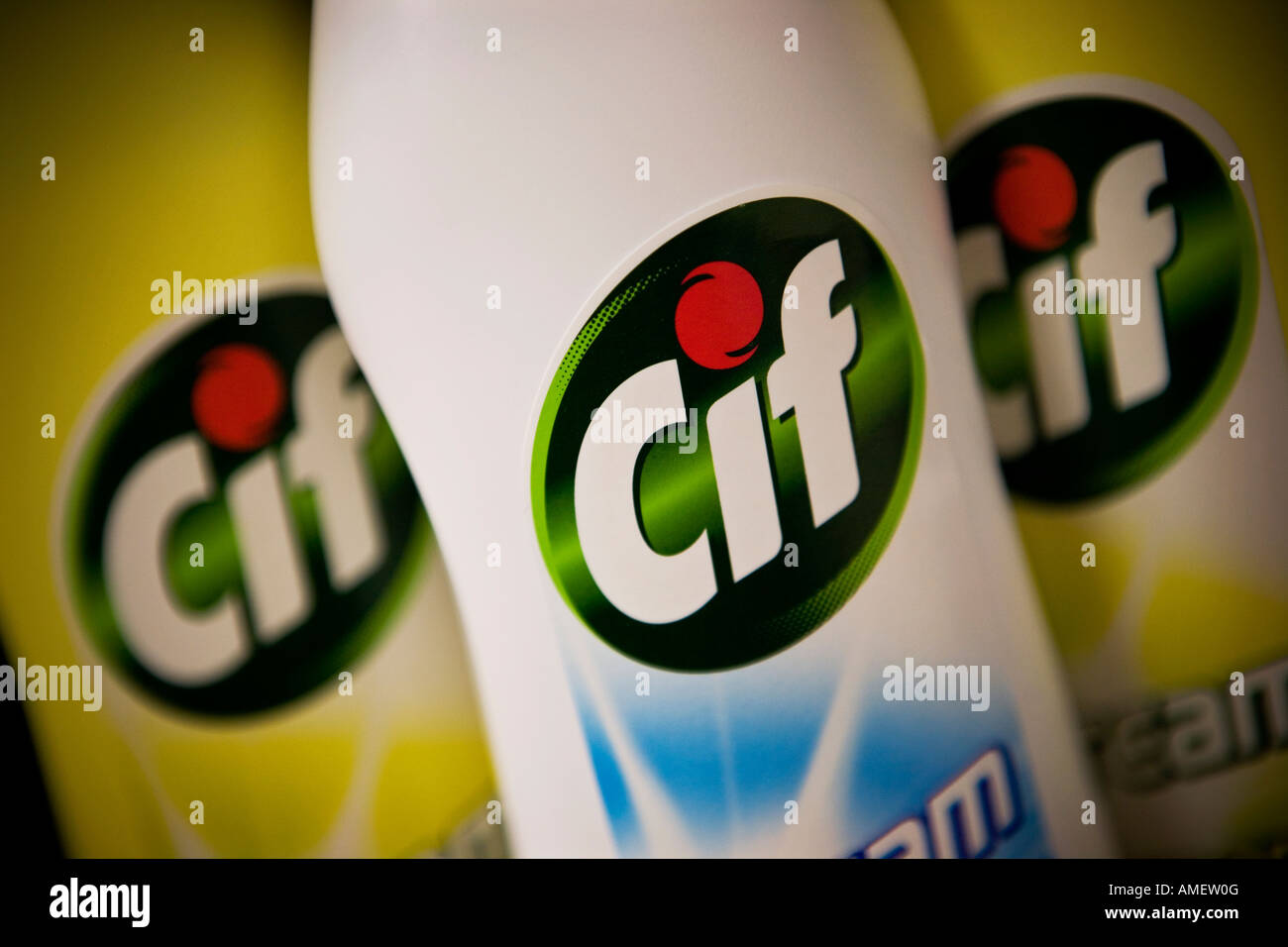 Cif cleaning cream Cif is a Unilever brand - Stock Image
