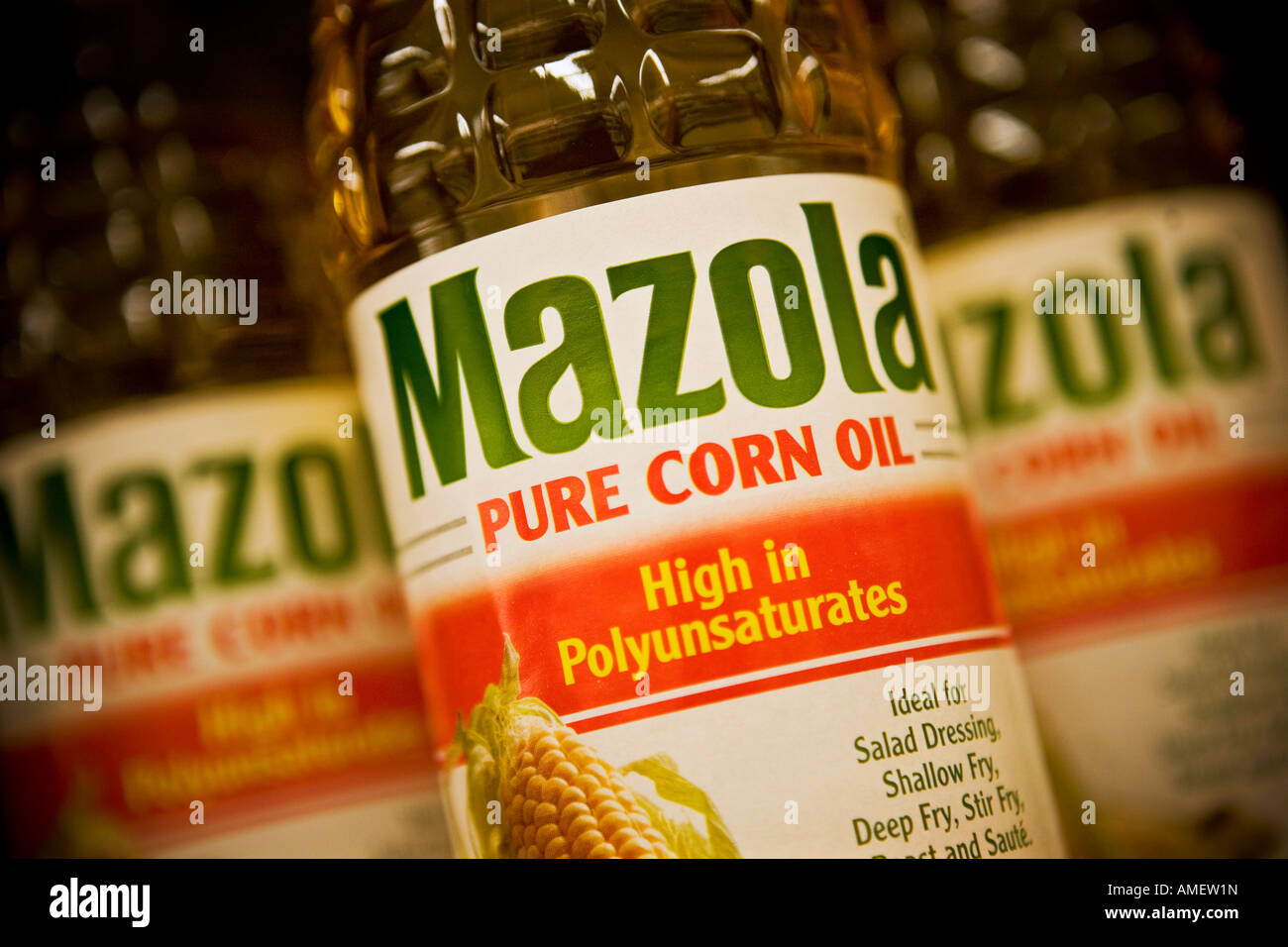 Mazola corn oil Mazola is an Associated British Foods brand - Stock Image