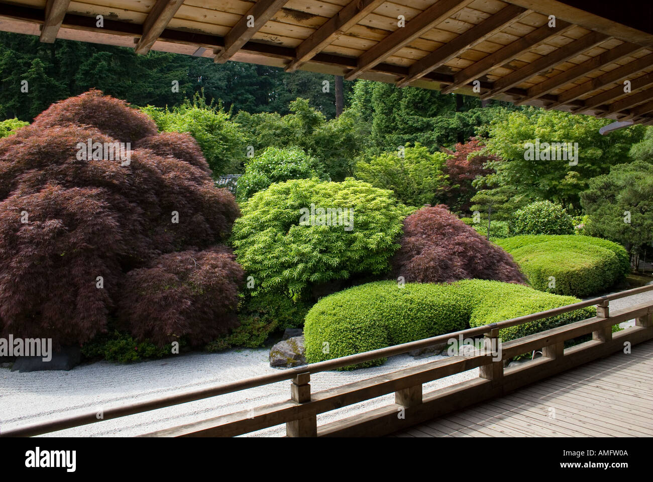 Raked Sand Plants At The Portland Japanese Garden Considered Most Authentic Outside Of Japan PORTLAND