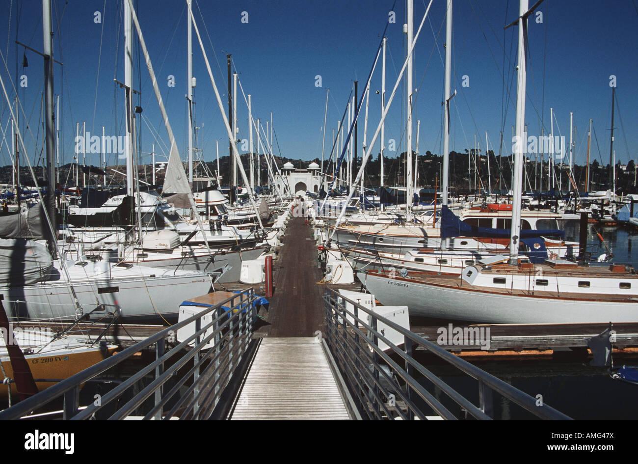 Sausalito Yacht Harbor Stock Photos & Sausalito Yacht Harbor