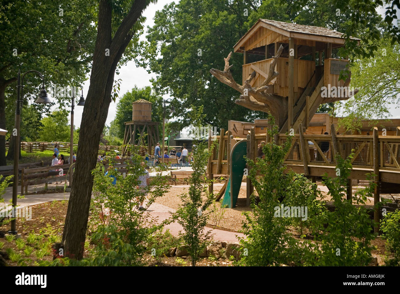 Missouri Botanical Garden St Louis Usa Stock Photos & Missouri ...