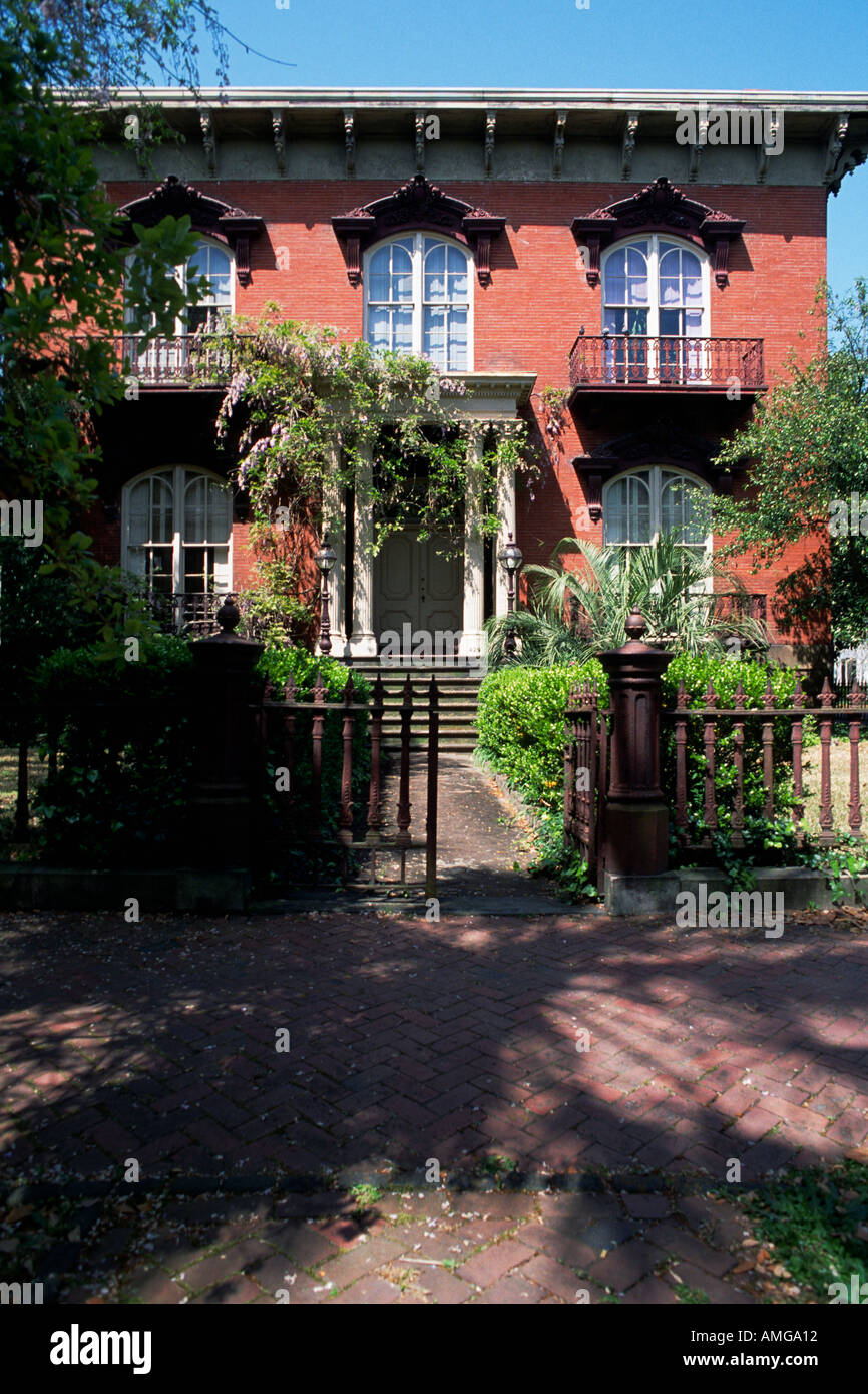 Johnny Mercer House Savannah Georgia Usa Stock Photo 2820625 Alamy