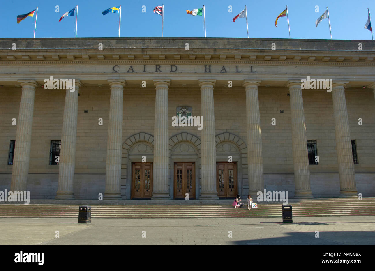 Caird Hall Dundee - Stock Image
