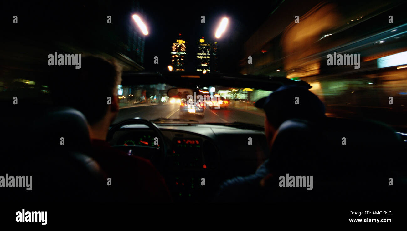 Light Inside Car Night High Resolution Stock Photography And Images Alamy