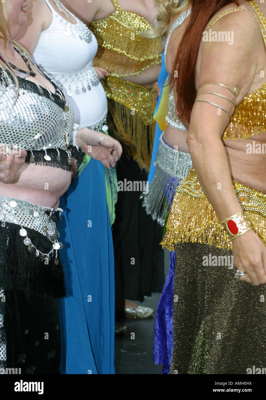 Mature ladies dancing