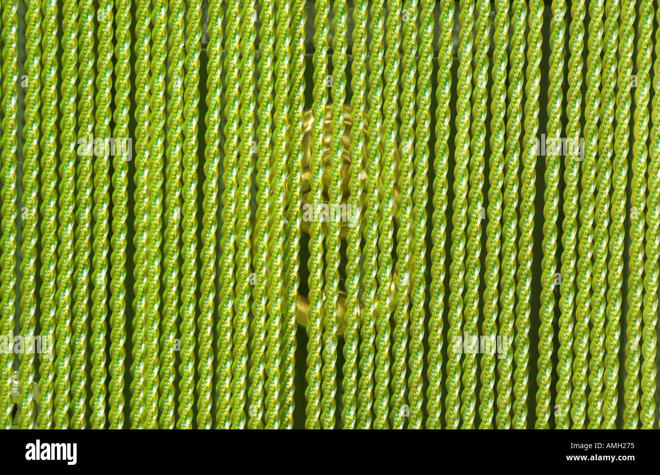 Green plastic fly screen in Italy Stock Photo: 2822772 - Alamy