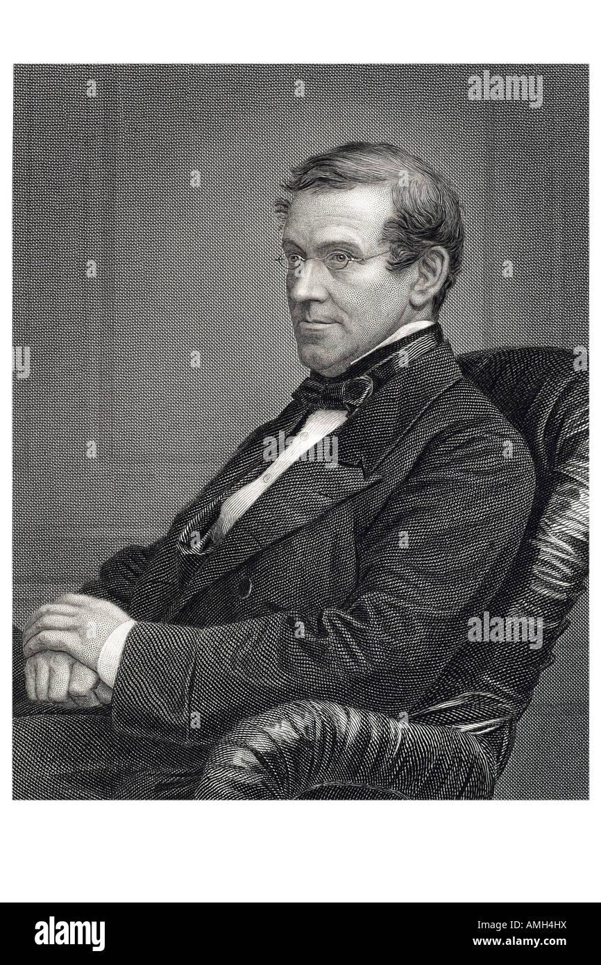 Sir Charles Wheatstone 1802 1875 British physicist 19th century scientist inventor scientific breakthroughs Victorian Stock Photo