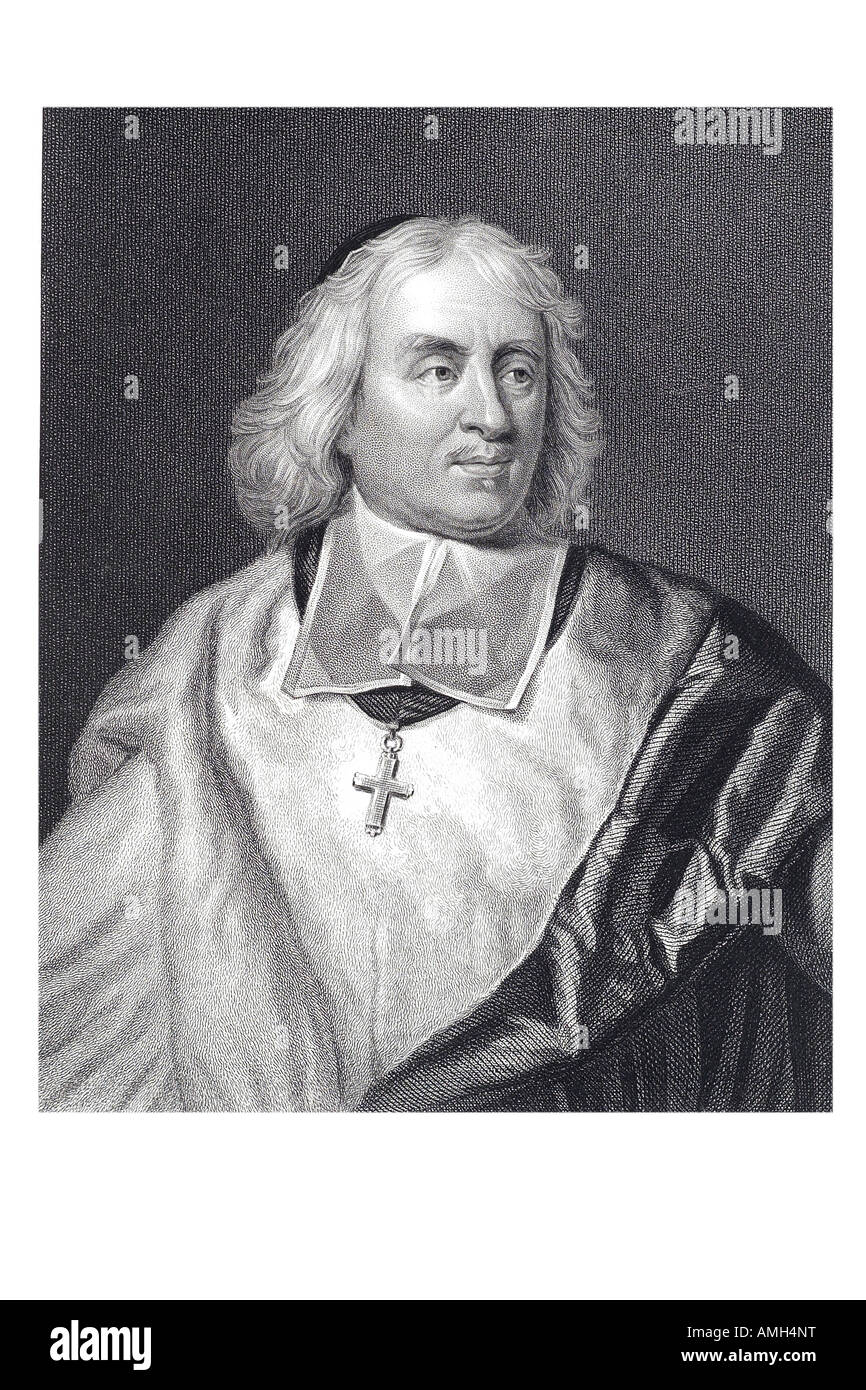 JACQUES BÉNIGNE BOSSUET 1627 1704 Bishop Meaux orators French bishop theologian pulpit court preacher theory - Stock Image