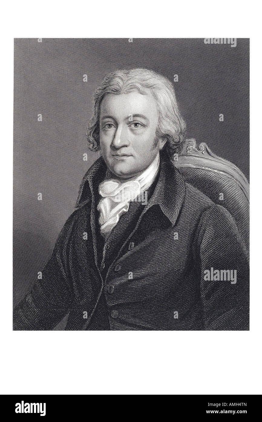Dr Edmund Cartwright 1743 1823 British clergyman inventor power loom clergyman Church England Marnham Nottinghamshire Stock Photo