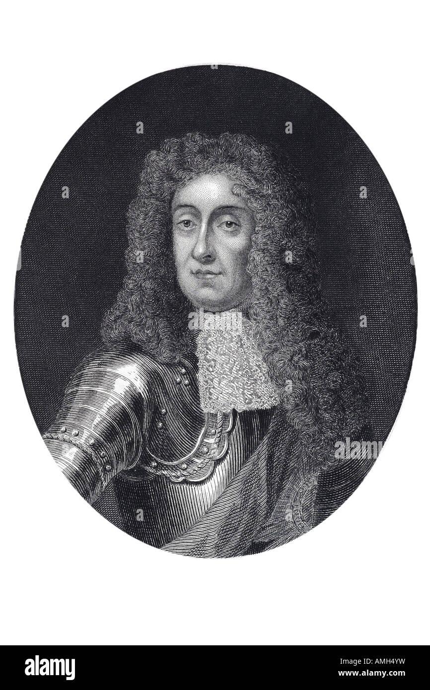 James II England 1633 1701 King  England  Ireland VII Scotland Roman Catholic monarch distrusted autocratic Glorious - Stock Image