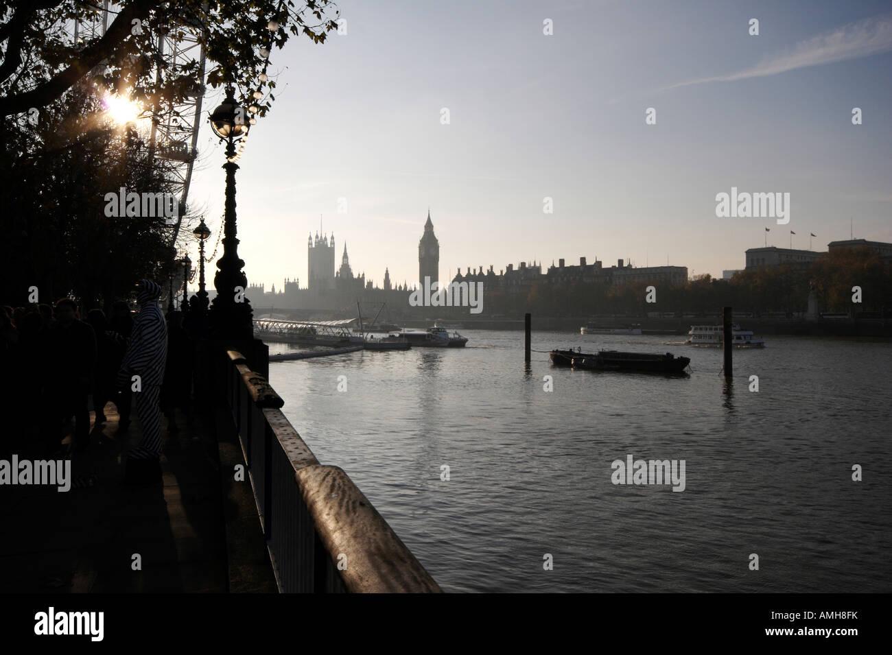 Houses of Parliament, London, England, UK - Stock Image