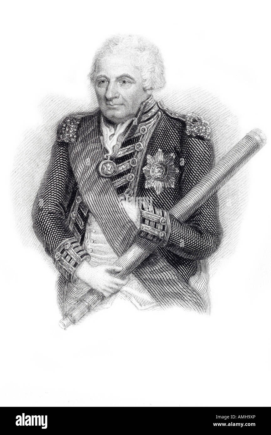 John Jervis 1st Earl St Vincent 1735 1823 Admiral British Royal Navy Meaford Staffordshire Stafford Admiral Commander Stock Photo