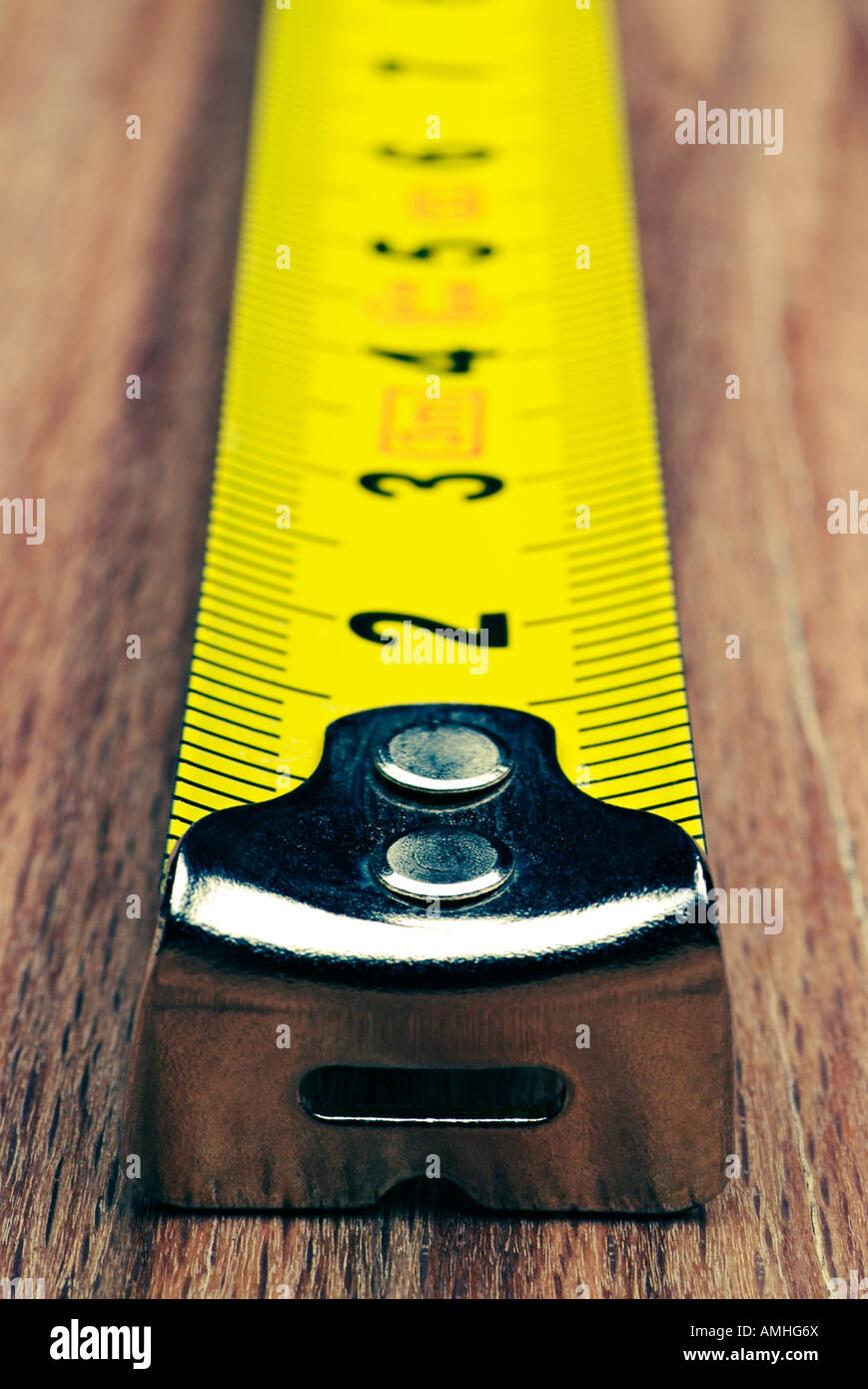 Tape Measure Close Up - Stock Image