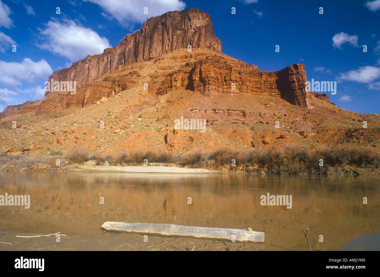 Morning on Colorado River southern UT - Stock Image