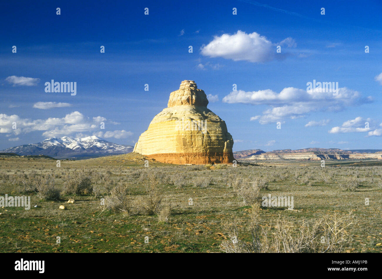 Rock formation in southern UT - Stock Image