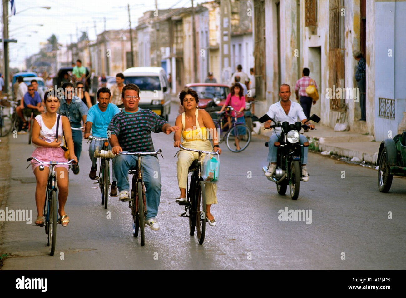 Kuba, Matanzas, Cardenas, Strassenszene Stock Photo