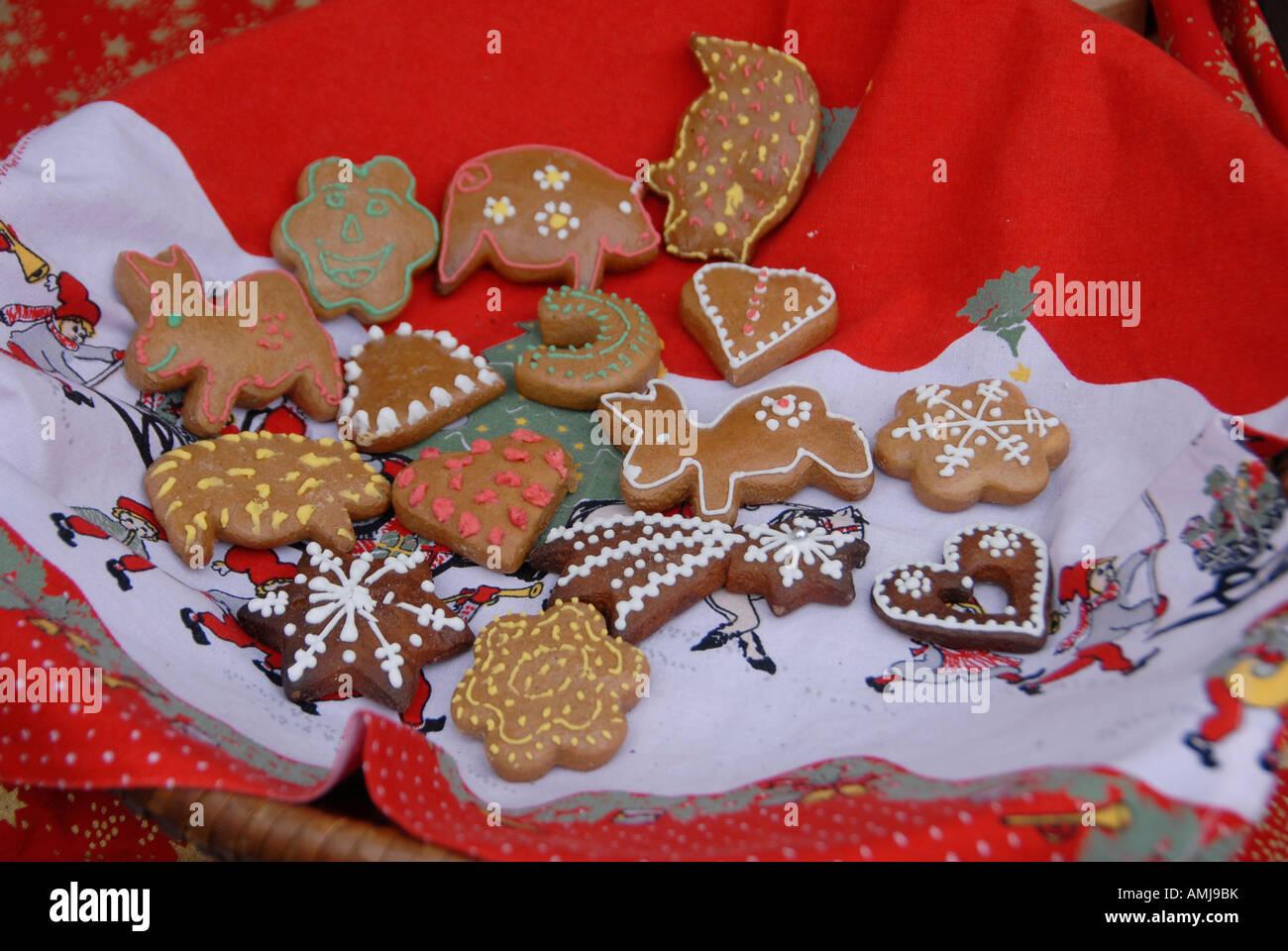 Christmas Cookies Czech Republic Stock Photo 15275478 Alamy