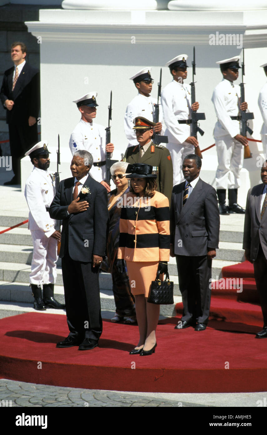 Cape Town Nelson Mandela - Stock Image