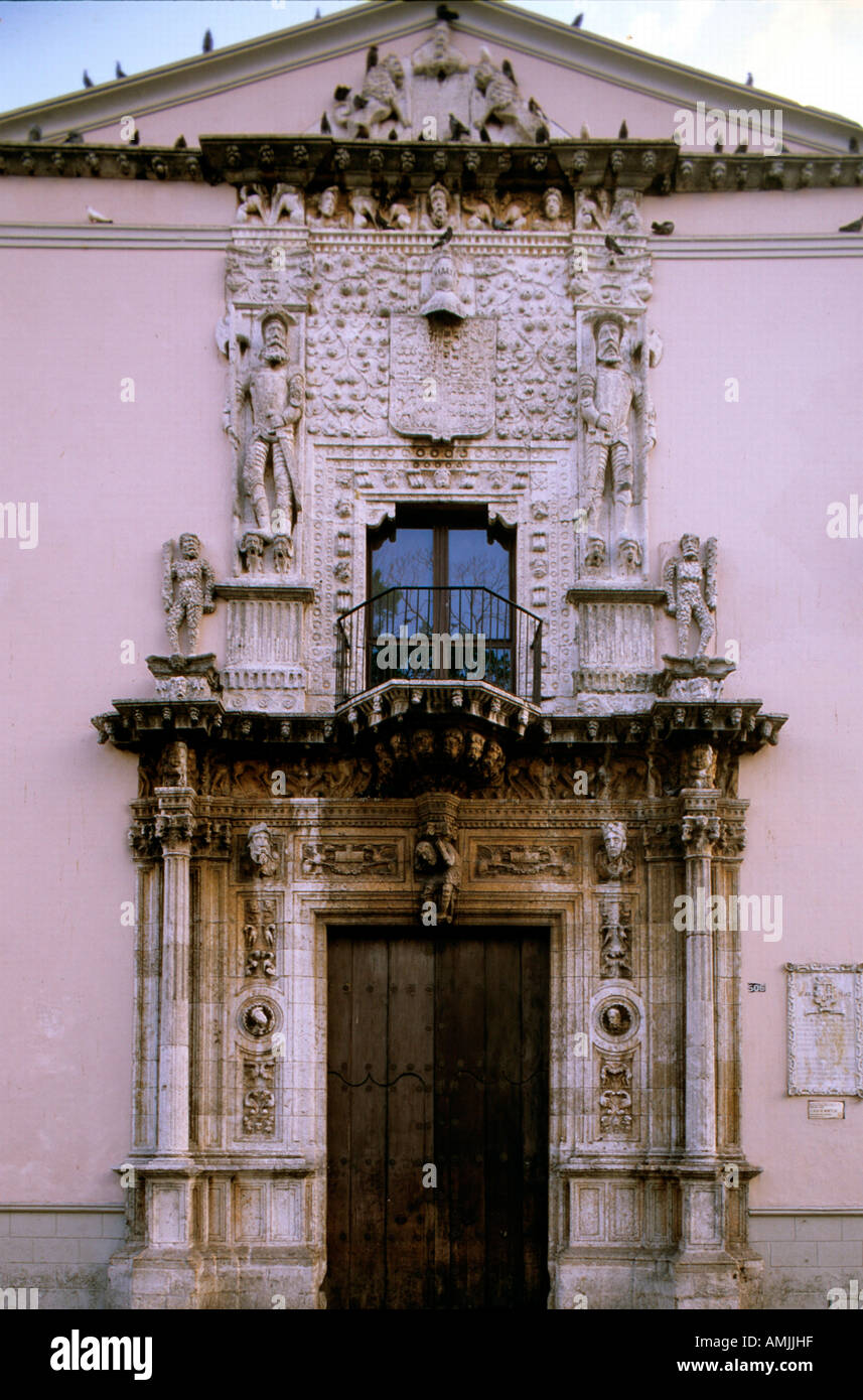 Mexiko, Yucatan, Merida, Casa de Montejo Stock Photo