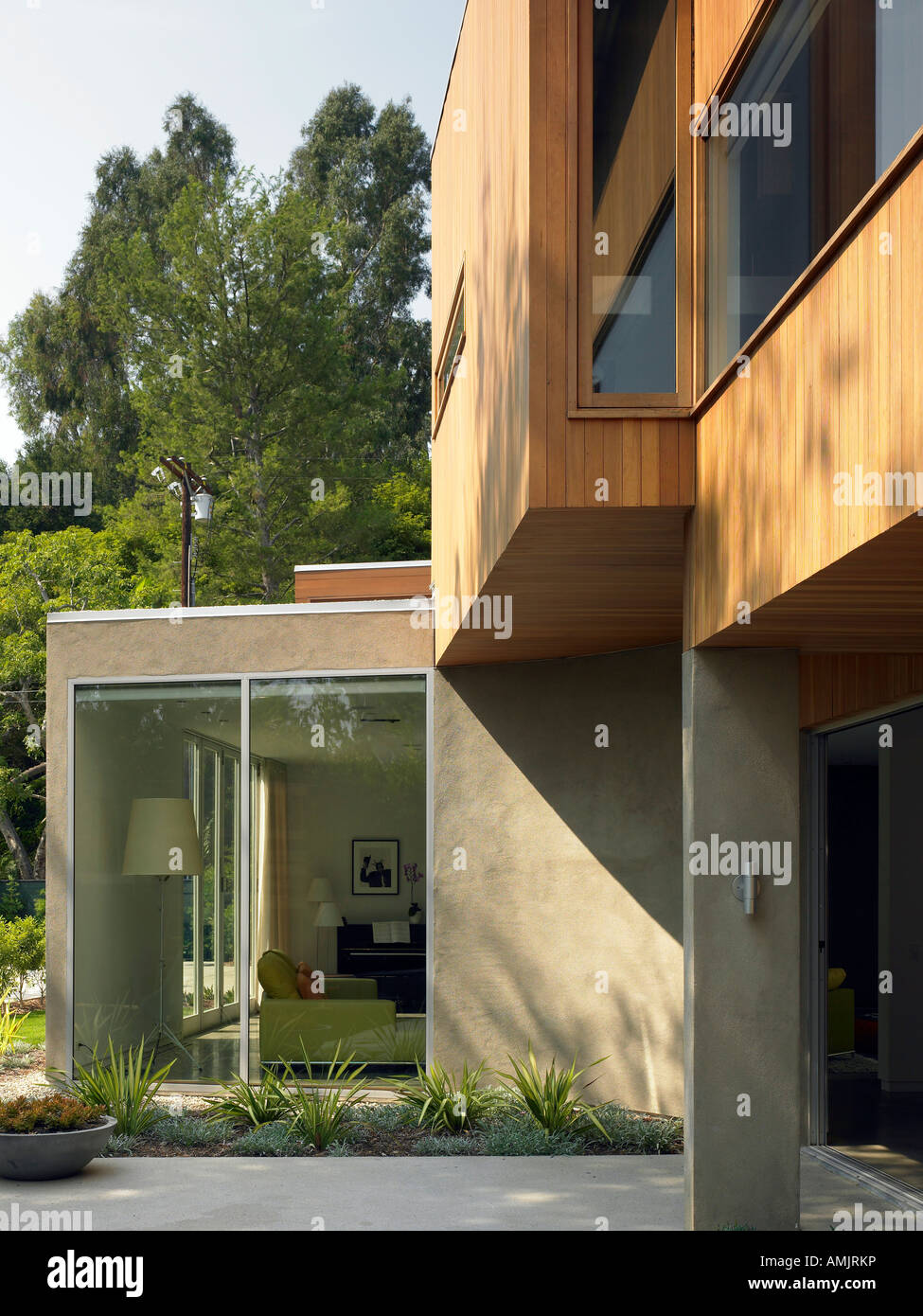 Kaplan Wright House, Los Angeles Architect: Susan Minter - Stock Image