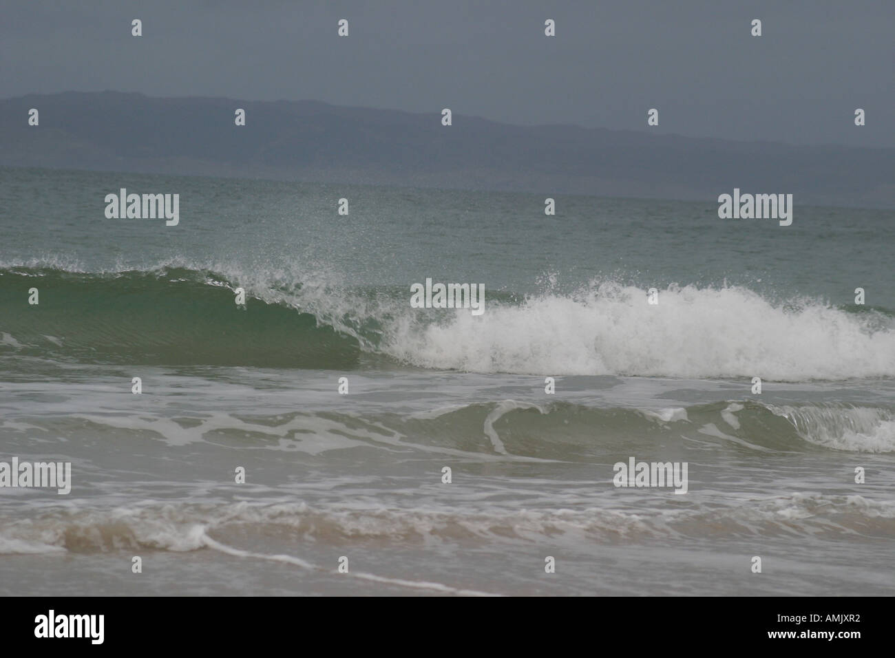 A Stock Photograph of A Wave Approaching in Scotland Stock Photo