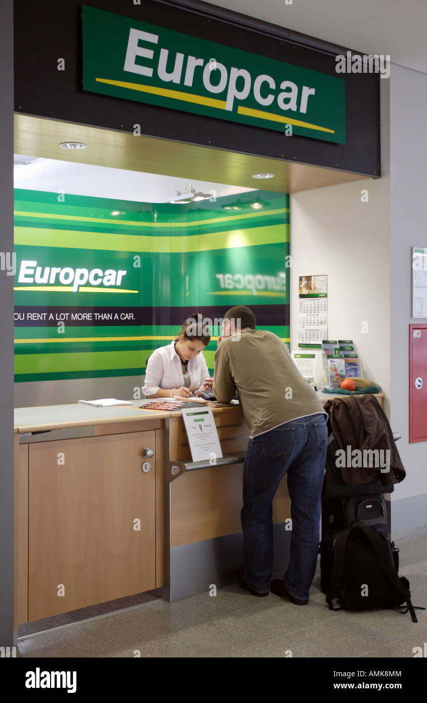Exhibition Stand Hire Newcastle : Europcar hire stock photos images