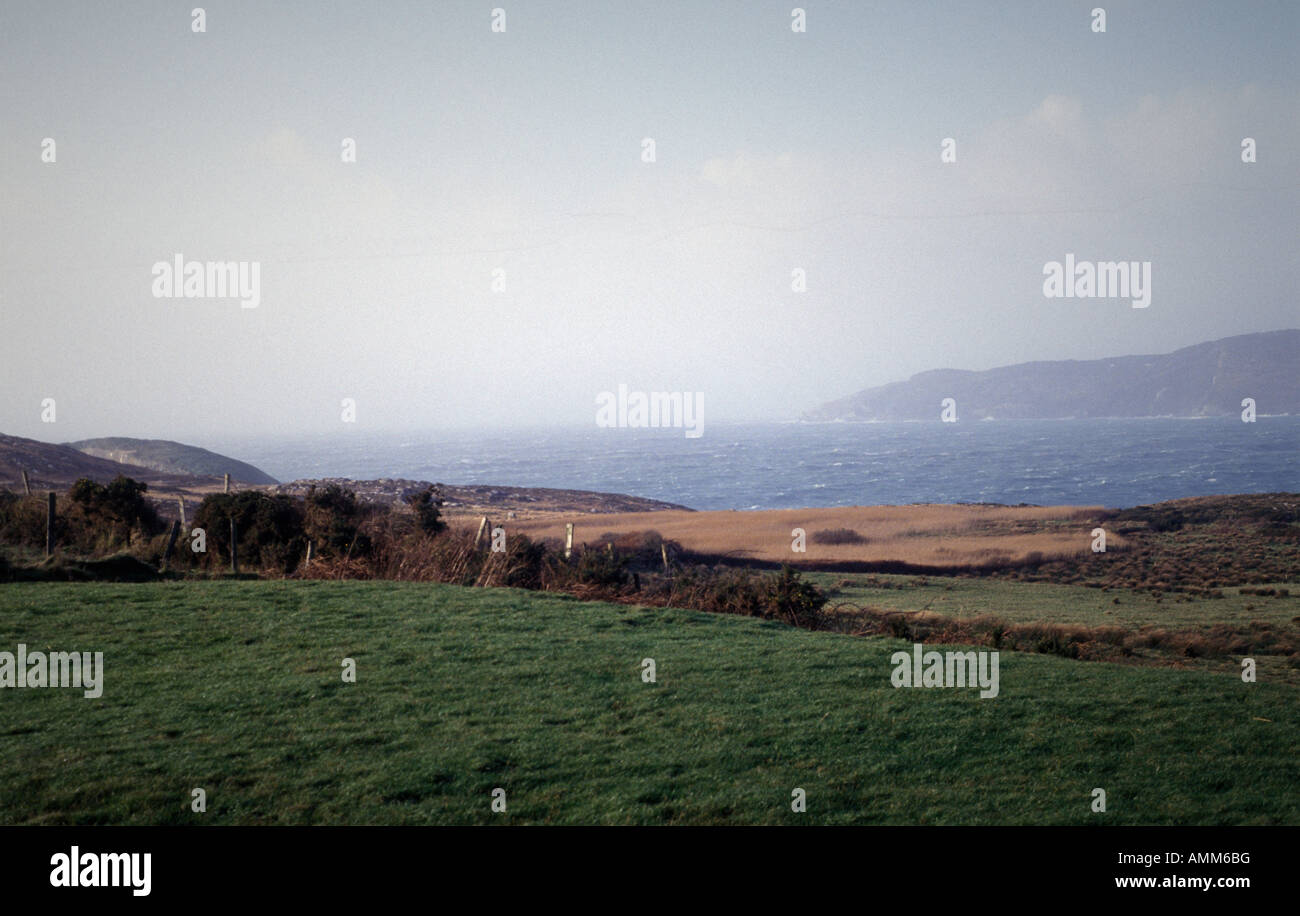 Douro, Goleen overlooking Dunmanus Bay, West Cork, Ireland - Stock Image