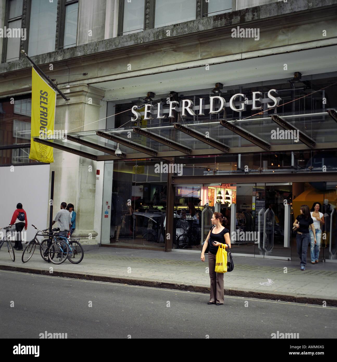 Selfridges, Oxford Street, London - Stock Image