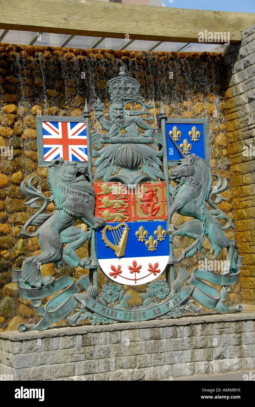 British Columbia Coat Of Arms Stock Photos & British