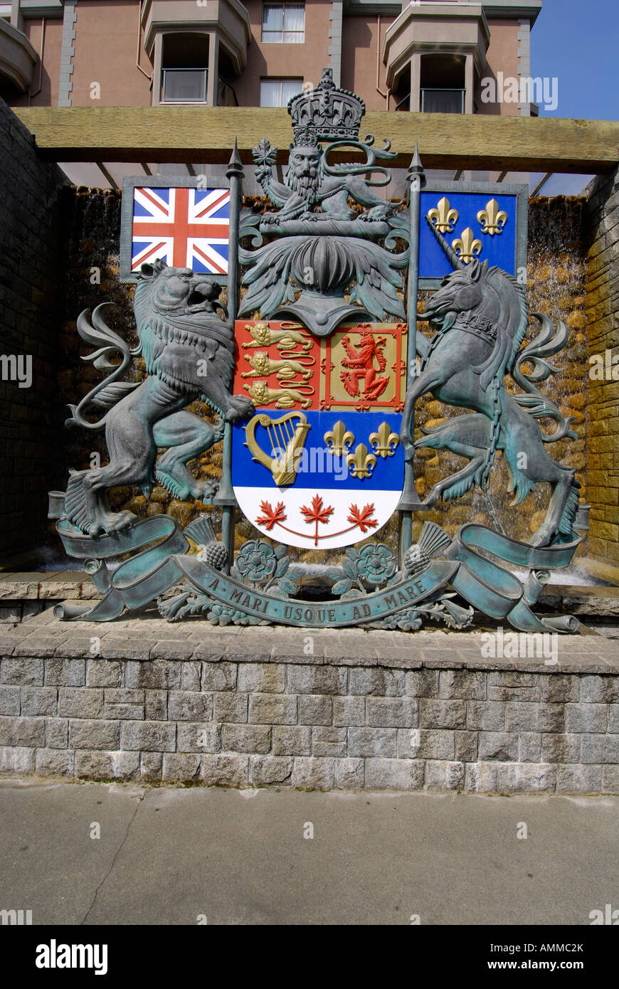 Coat of Arms in Confederation Garden Court Provincial and