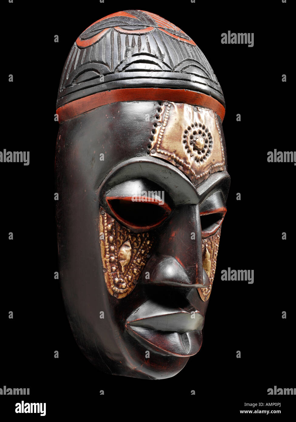Ethnic Traditional African Mask  Art And Craft Stock Photo