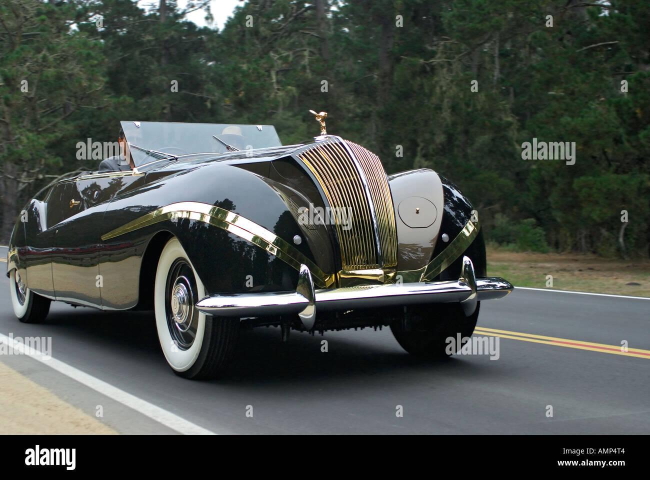 'Rolls Royce Phantom 3 ^Labourdette Vue ^Totale, ^1939' - Stock Image
