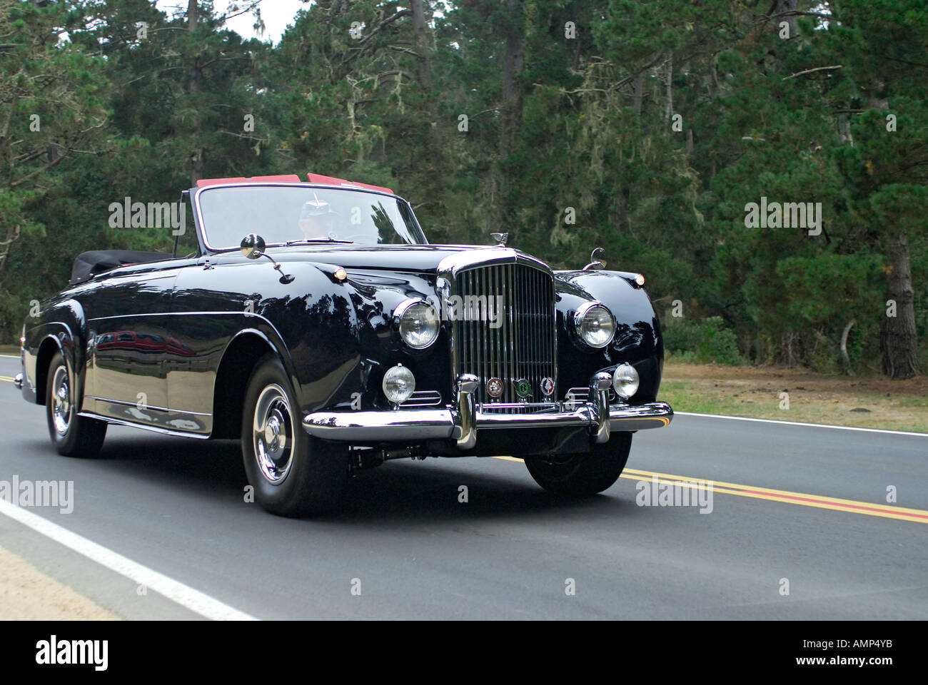 '^Bentley ^S1 ^Mulliner ^convertible, ^1956' - Stock Image