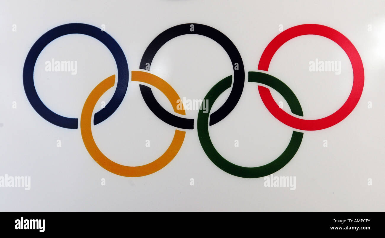Olympic Games Logo Stock Photos Olympic Games Logo Stock Images