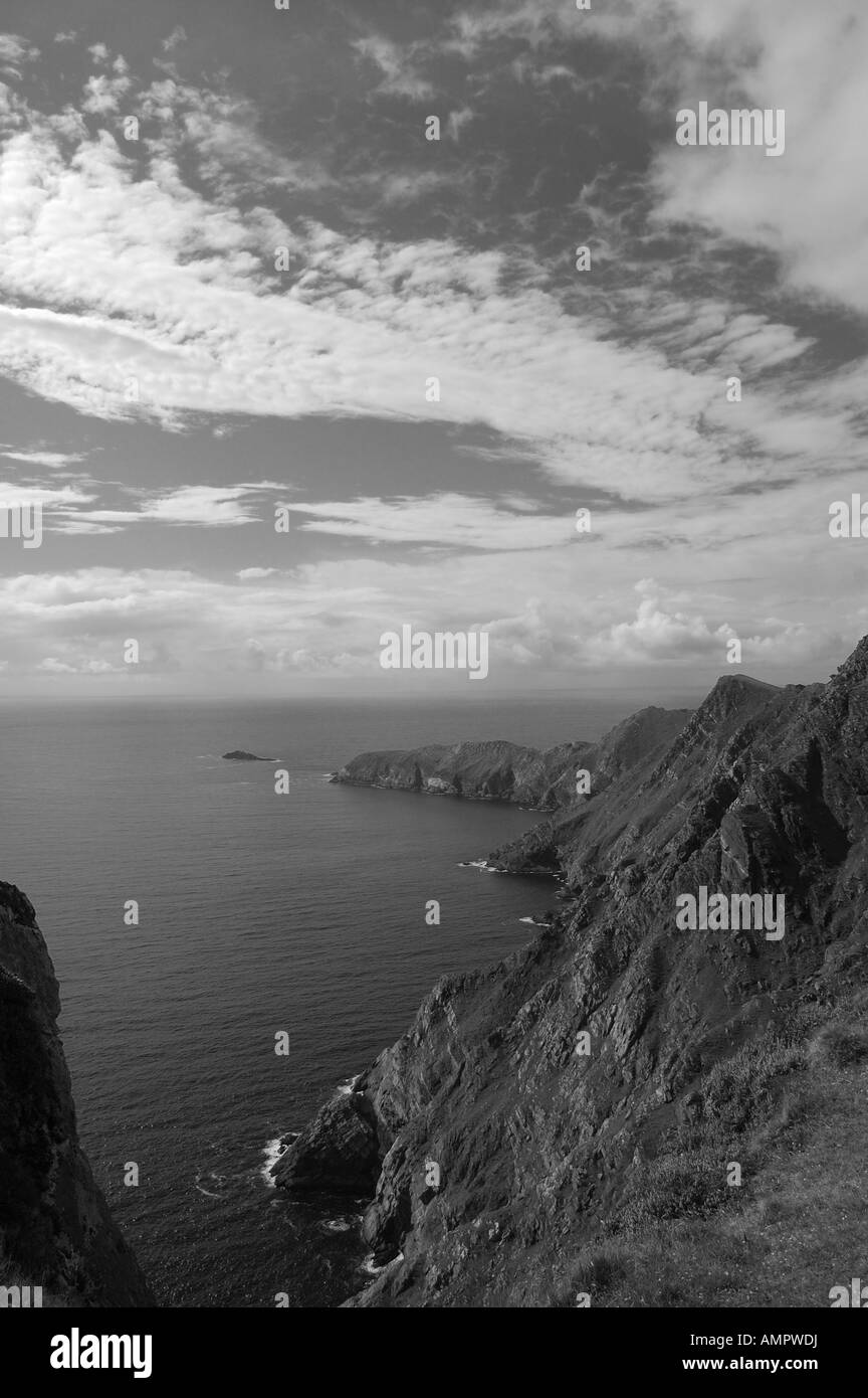 Achill Islannd, Co Mayo, West of Ireland - Stock Image