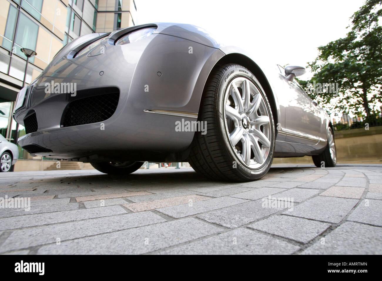 Bentley motor Car - Stock Image