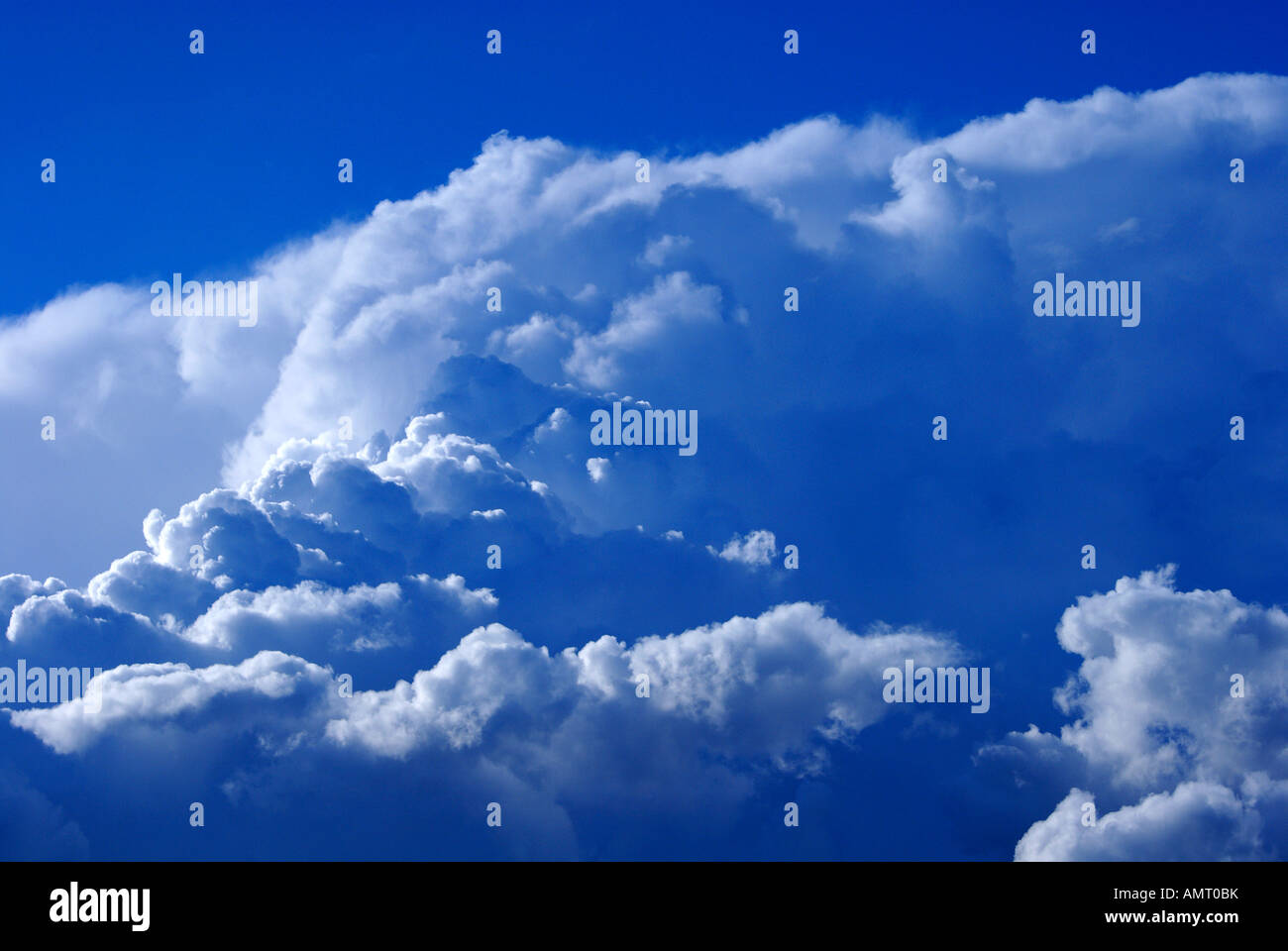 Summer Storm Clouds in the UK - Stock Image