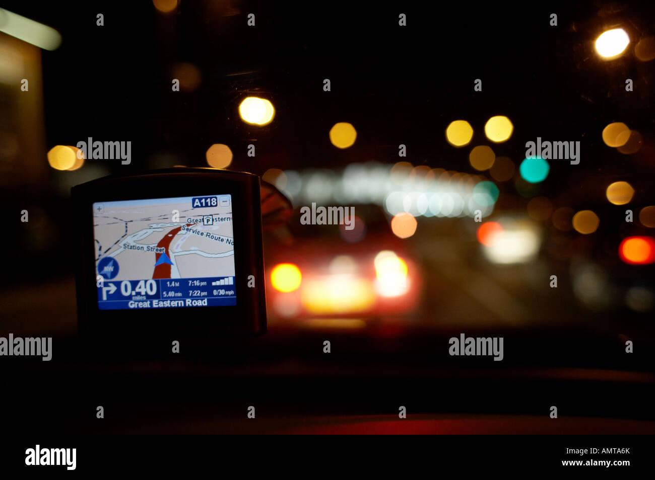 Tomtom One GPS satnav sattelite navigation system - Stock Image